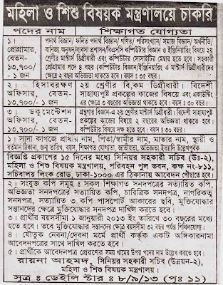 Jobs Bangladesh