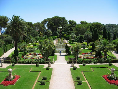 villa ephrussi de rothschild Garden, France