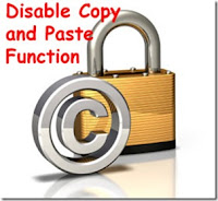 Disable Right Click Context Menu