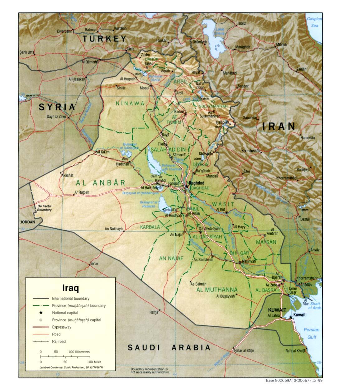 the university of texas at austin aqu podemos encontrar un montn de mapas de iraq