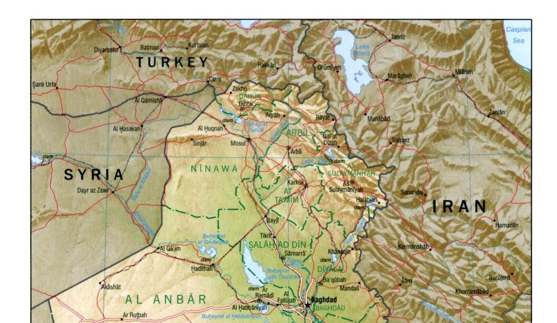 iraq geografa
