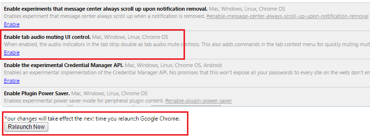 google, google chrome, cut thesound, browser, enable tab settings audio muting UI contro