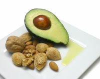 Avocados and nuts. Healthy? Yes! Low fat or low-cal? No