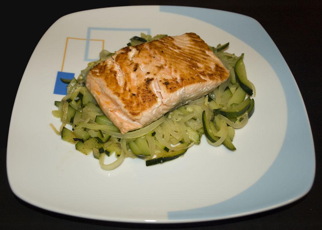 Erkudenen sukaldea la cocina de erkuden lomo de salm n for Como se cocina el salmon