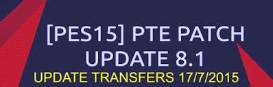 Update Transfer Pemain Juli 2015 untuk PES 2015 Terbaru