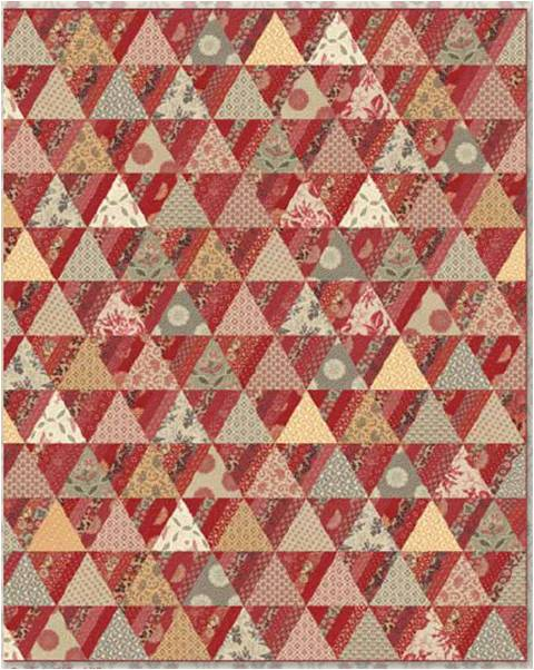 Free Quilt Patterns Moda Fabrics : Michele Bilyeu Creates *With Heart and Hands*: Sochi Quilts: The Principle of the Patchwork Quilt