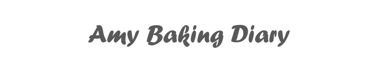 Amy Baking Diary
