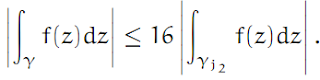 Complex Analysis: #4 Cauchy`s Theorem (simplest version) equation pic 6