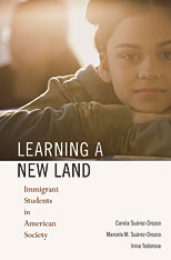 book jacket Learning a New Land