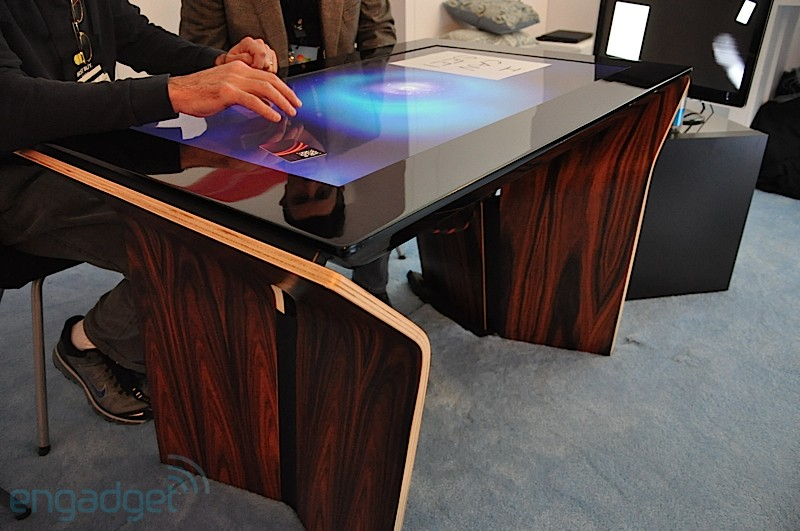 Info Space Blog Samsung Surface Sur40 Multi Touch Table
