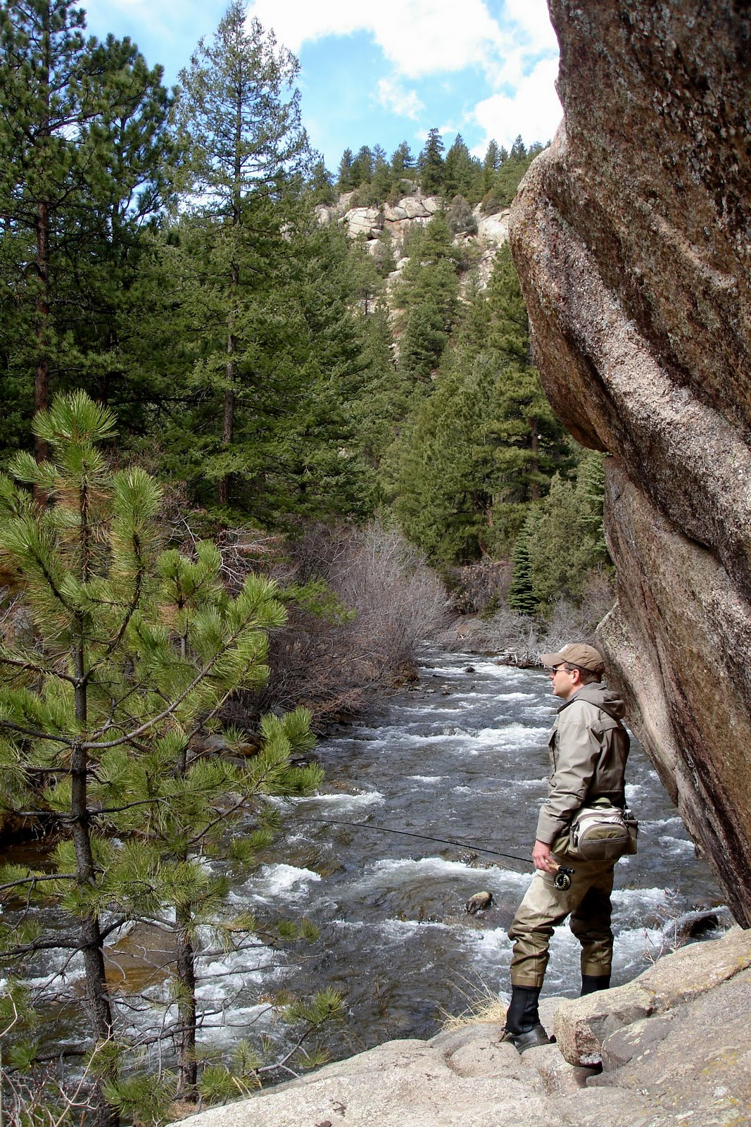 Colorado fly fishing reports boulder creek directory for Boulder creek fishing