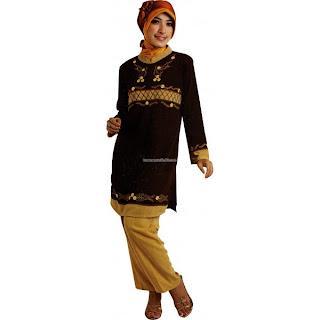 Model Pakaian Baju Lebaran  Muslim 2011