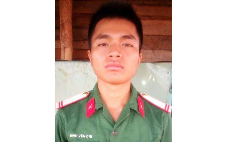 Gia Lai: Chú bộ đội dũng cảm cứu hai người bị đuối nước