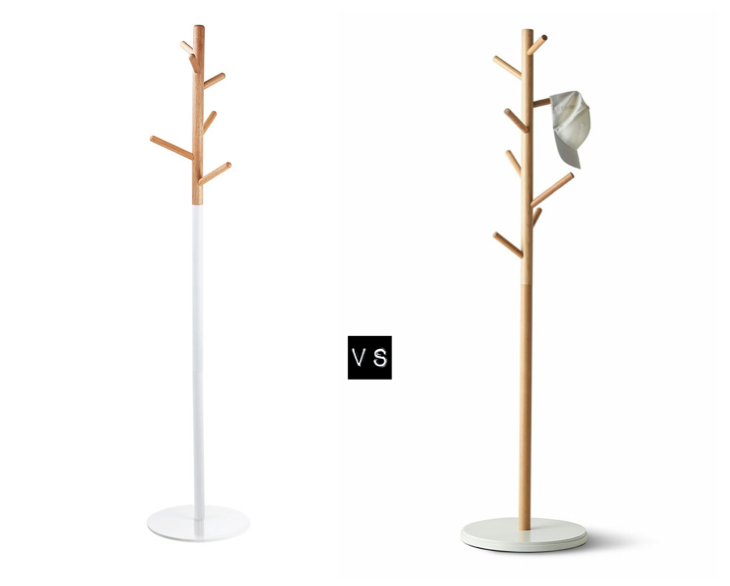 Design on a budget leitmotiv nordic days by flor linckens for Ikea coat rack stand