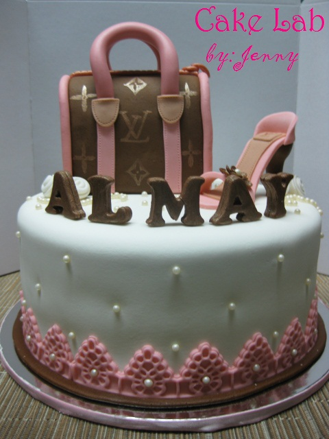 Cake Lab Byjenny Every Womans Weaknesses Bags Shoes