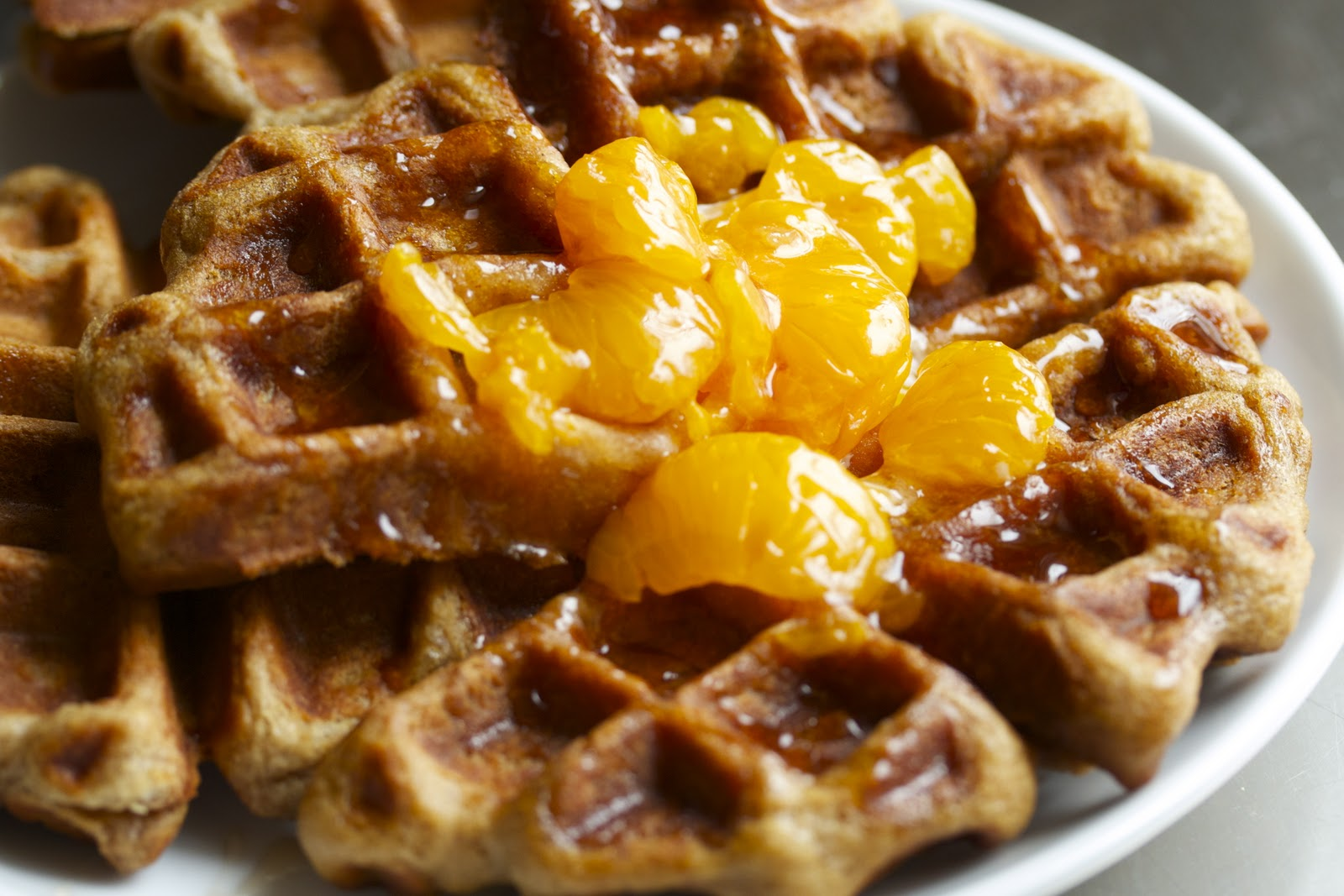 Art Smith's Sour Cream Waffle Recipe — Dishmaps