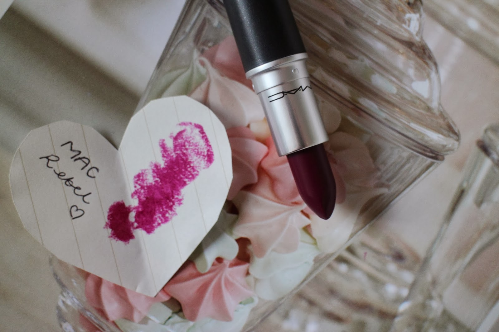 MAC Rebel Lipstick Review L'amour Josie Swatch