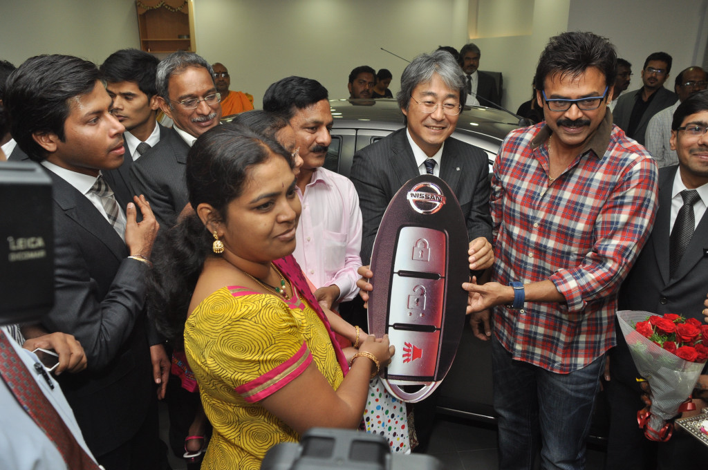 Venkatesh In Lakshmi Venkatesh Launch Laksh...