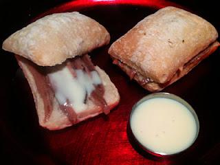 Cocina con Aníbal Montadito de anchoas y leche condensada