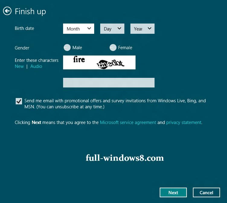 how to make windows live id