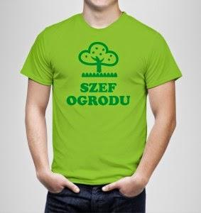 Koszulka dla ogrodnika