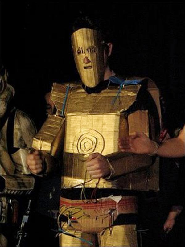 C3P0 Halloween costume