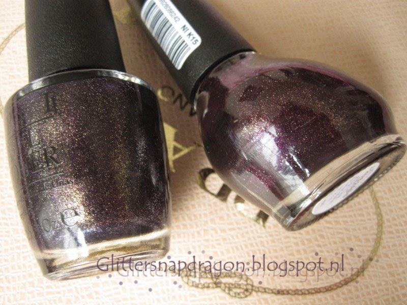 OPI First Class Desires NOPI Smile For The Glam-era