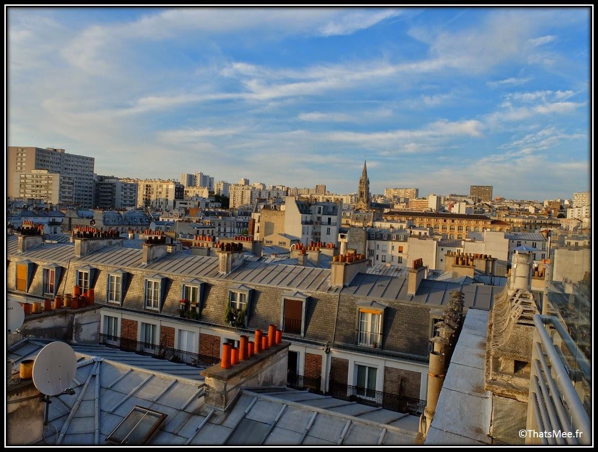 bar perchoir hipster rooftop Paris vue view toits de Paris, Perchoir cidres perchés soirée privee Paris 11