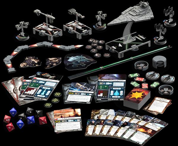 componentes Star Wars: Armada