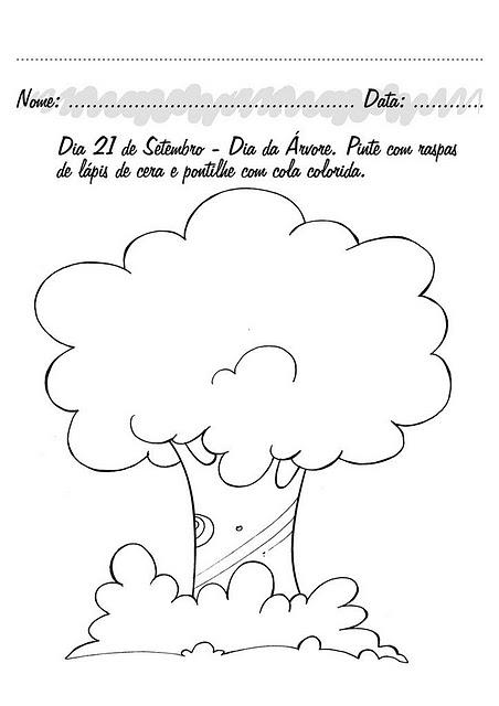 Dibujo para colorear sobre el araguaney - Imagui