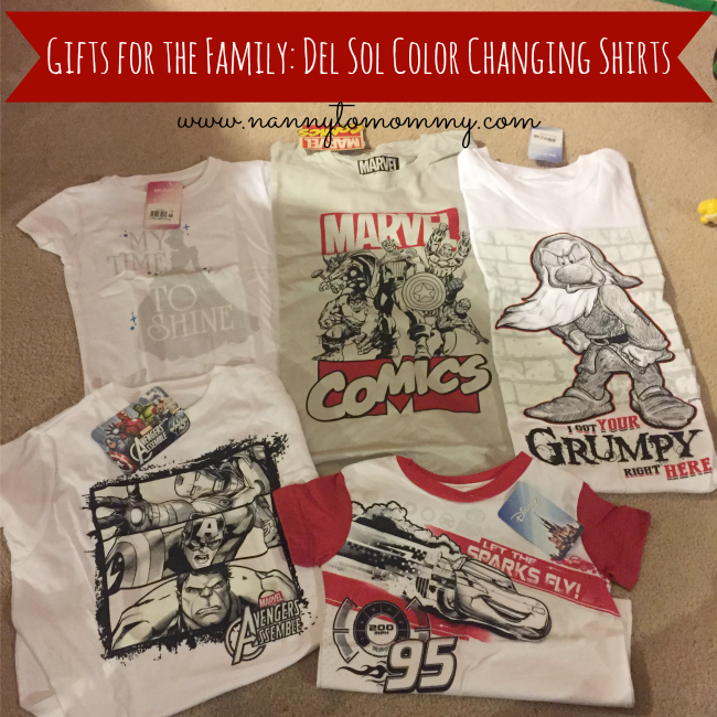 whole family gifts nanny to mommy gifts for the whole family del sol color changing