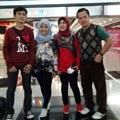 Fatin Shidqia Bersama keluarga ~ Lokasi Di Hongkong - Indonesia