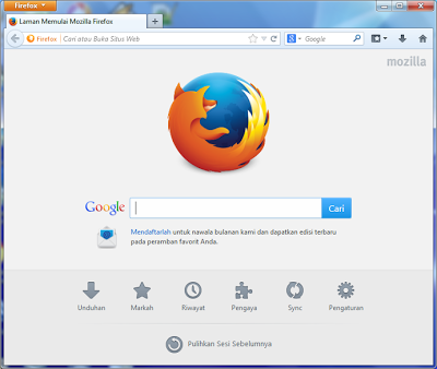 Download Mozilla Firefox 26.0 Installer Update Terbaru 2014