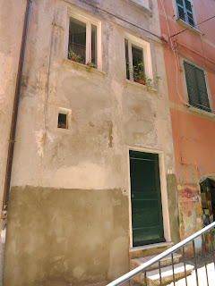 Former Synagogue in Jewish ghetto, Lerici, Italy.