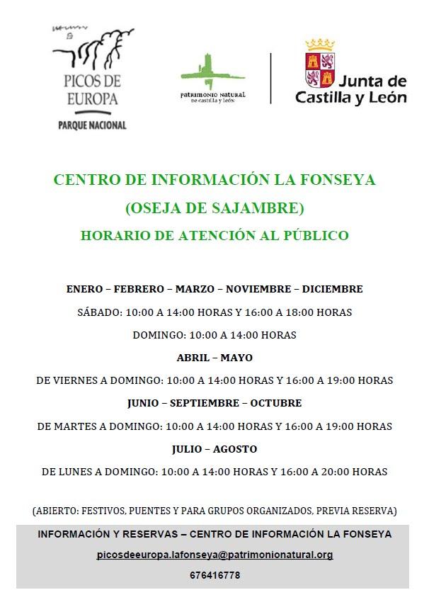 Centro de Información LA FONSEYA