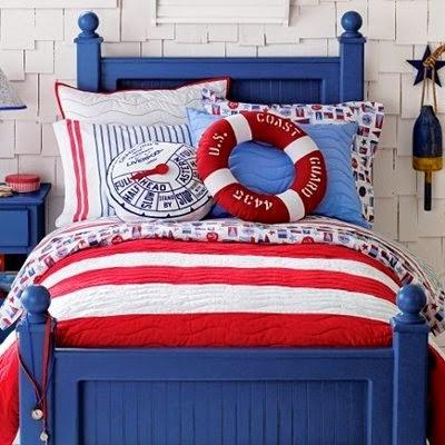Habitaci n marinera la habitaci n infantil - Habitaciones infantiles azules ...