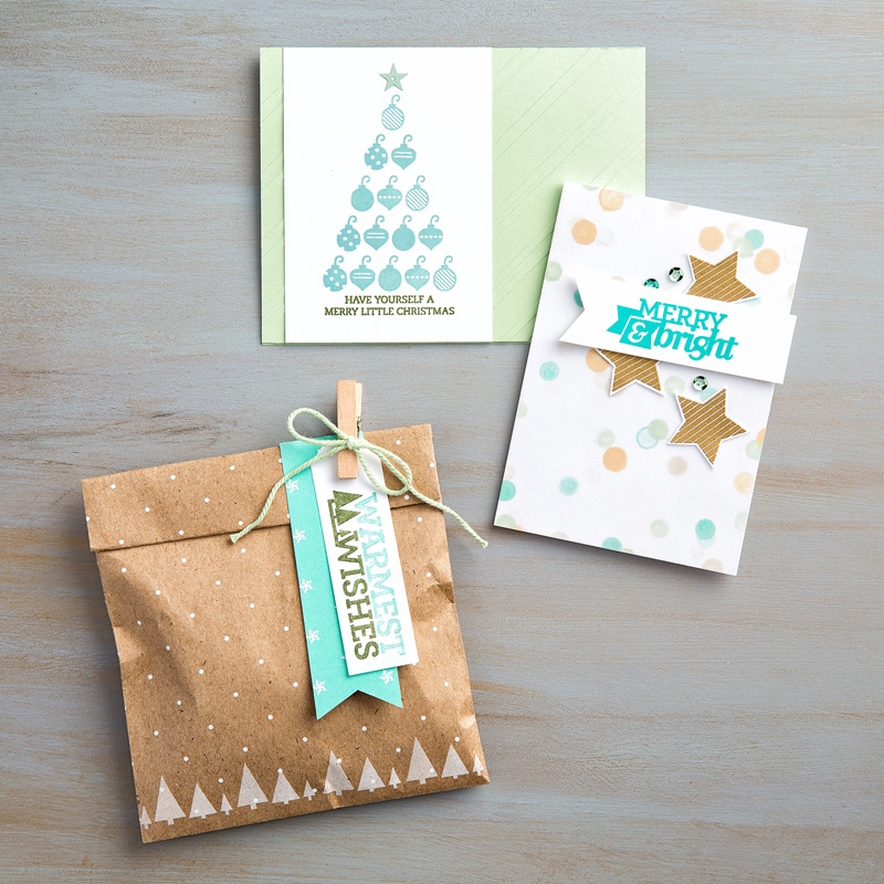 Stampin' Up! Christmas Bliss Project Samples