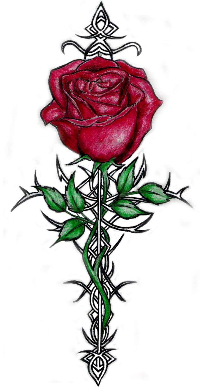 designs crucifix tattoos tattoos
