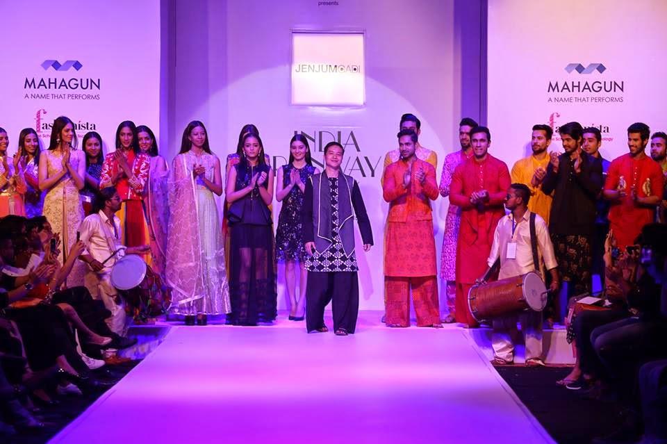 Opening show Jenjum Gadi at IRW 15, India runway week 2015, IRW summer edition 15, Jenjum gadi collection 2015