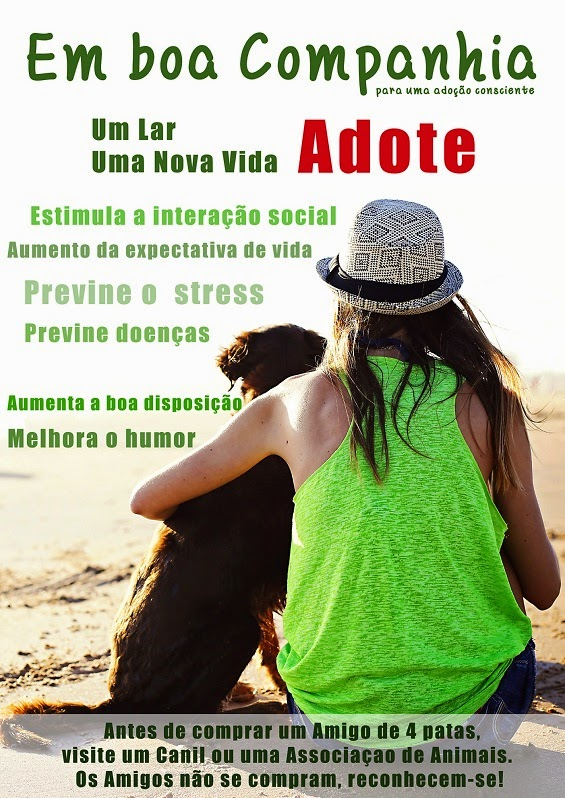 ADOPTE UM AMIGO!