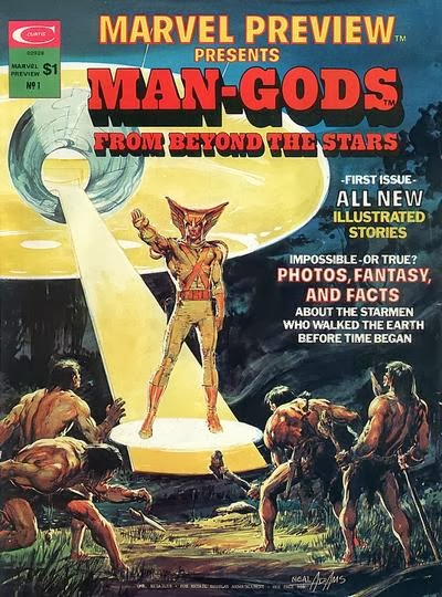 Marvel Preview #1, Man-Gods From Beyond the Stars, Good Lord