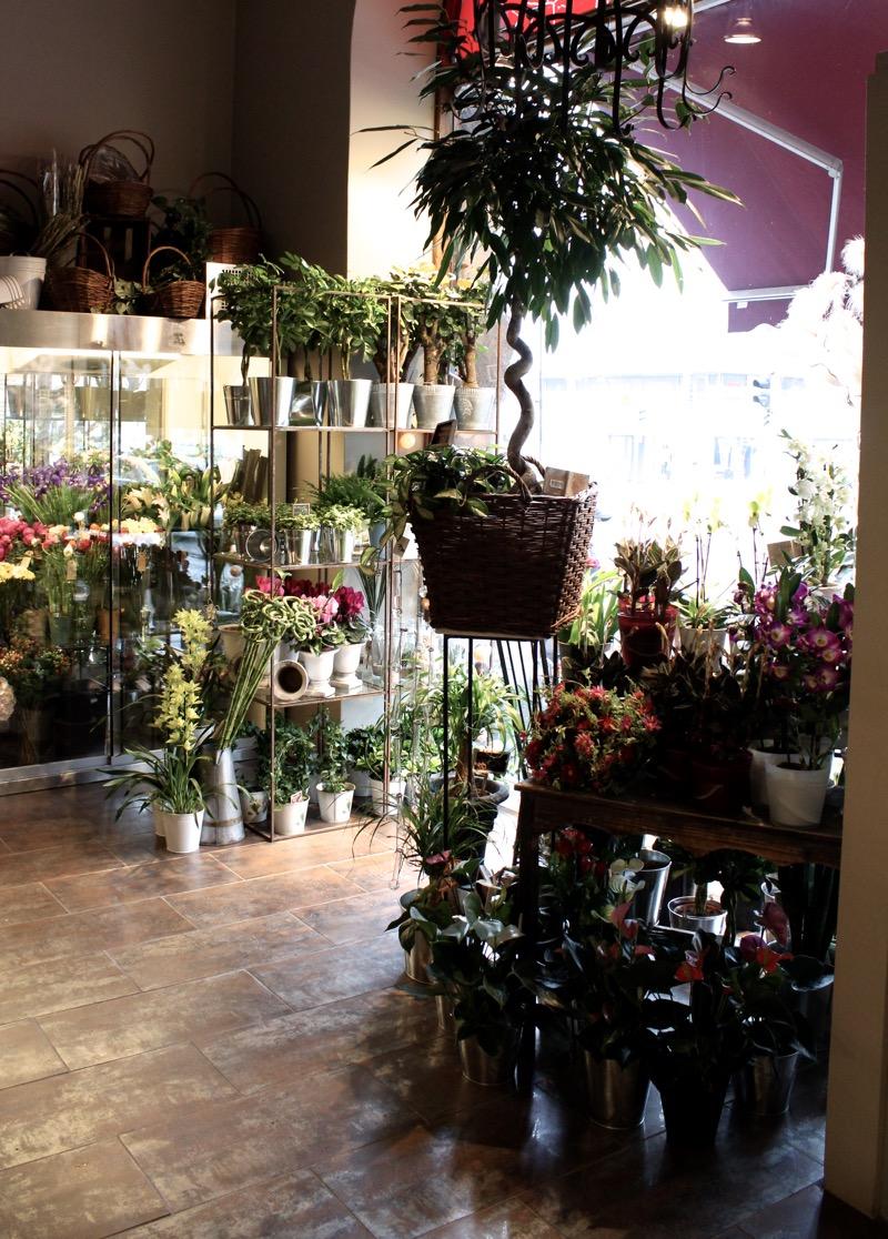 vaasalainen tunnelmallinen kukkakauppa