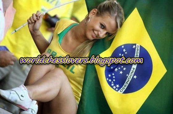 Photos-Brazilian Magnus Carlsen's girlfriend