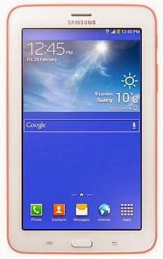 Gambar Samsung Galaxy Tab 3 Lite 7.0 3G Pink Bagian Depan