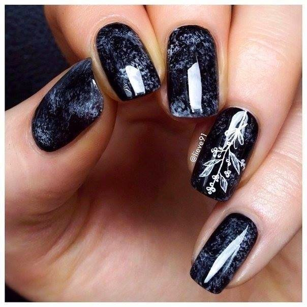 Black Gradient  Nails Design | Nails