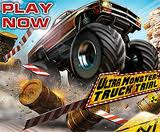 "Drive huge monsters truck full over rough terrain in this arcade game: 3D Monster Truck games free download full version pc for kids, wach monster truck show on your pc with big monster truck videos youtube. Get the best out of those monsters! Finish all the trials in the desert and the arctic land!  Be fast and use the nitro boost to win the medals. Win a bronze medal at least to unlock next level. Collect certain medal sets to unlock new trucks. You can perform various tricks to earn additional nitro charge. Drive huge monsters truck full over rough terrain in this arcade game: 3D monster truck game. Get the best out of those monsters! Finish all the trials in the desert and the arctic land!  Be fast and use the nitro boost to win the medals. Win a bronze medal at least to unlock next level. Collect certain medal sets to unlock new trucks. You can perform various tricks to earn additional nitro charge.  Here are some key features of ""Ultra Monster Truck"": · 5 powerful monster trucks · 15 levels in the desert and the arctic land · advanced 3D graphics · new truck physics · options menu to meet your PC's power · fullscreen and windowed mode Requirements: · CPU Pentium 1500 MHz or higher · 512MB RAM · Video 64MB or above Ultra Monster Truck 1.17 Here are some key features of ""Ultra Monster Truck"": · 5 powerful monster trucks · 15 levels in the desert and the arctic land · advanced 3D graphics · new truck physics · options menu to meet your PC's power · fullscreen and windowed mode Requirements: · CPU Pentium 1500 MHz or higher · 512MB RAM · Video 64MB or above Download Free Monster Truck: Ultra Monster Truck 2"