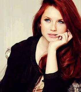 وصفة فعالة لزيادة وانبات شعرك بالثوم ,امرأة شعر احمر صهباء جميلة ,red head hair beauty girl woman beautiful