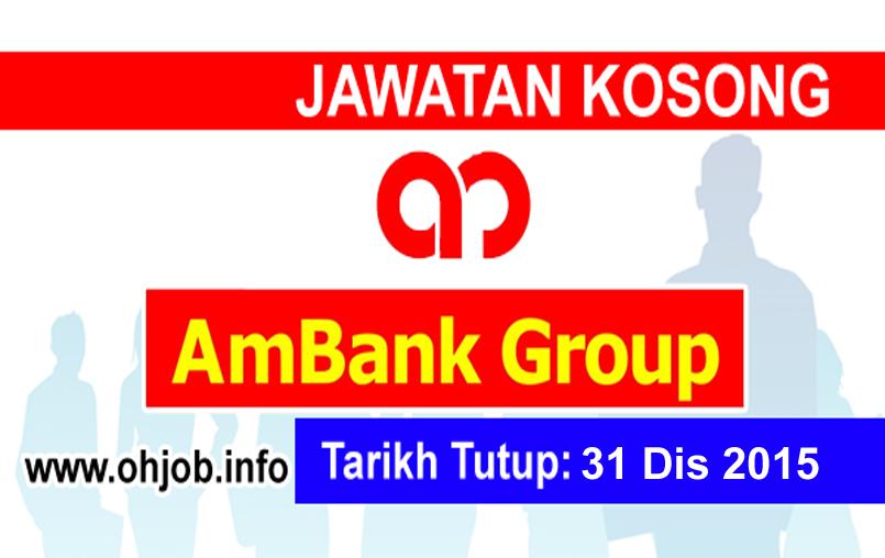 Jawatan Kerja Kosong AmBank Group logo www.ohjob.info disember 2015