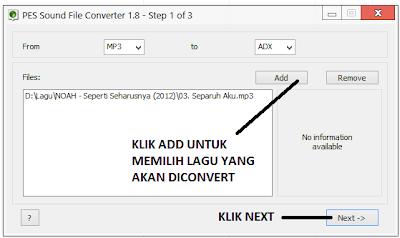 PES Sound Converter Tool