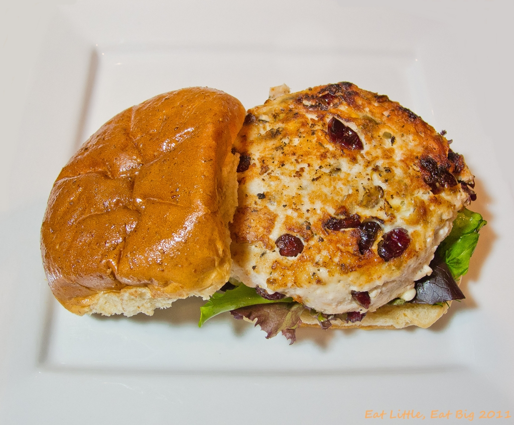 ... Cheese, Pistachio, and Cranberry Turkey Burgers | Eat Little, Eat Big